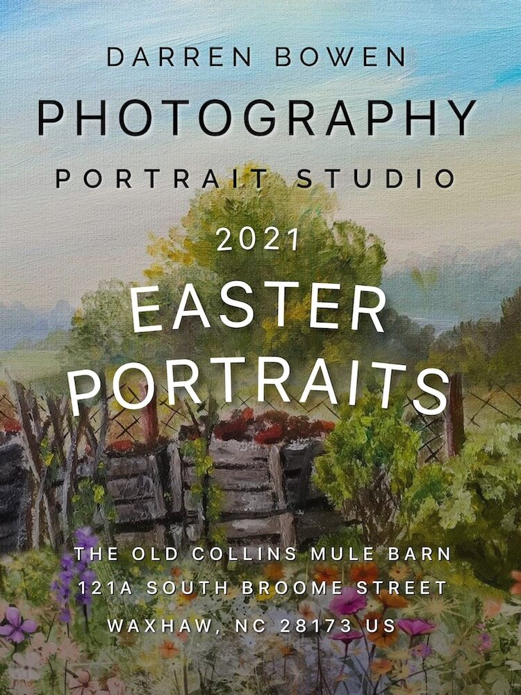 Easter Portrait Poster