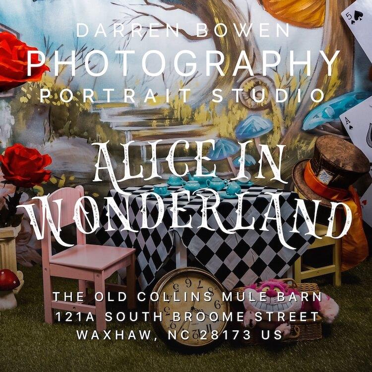 Alice in Wonderland Portraiture by Darren Bowen Photography